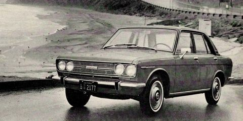 We Loved the Datsun 510 Back in 1968