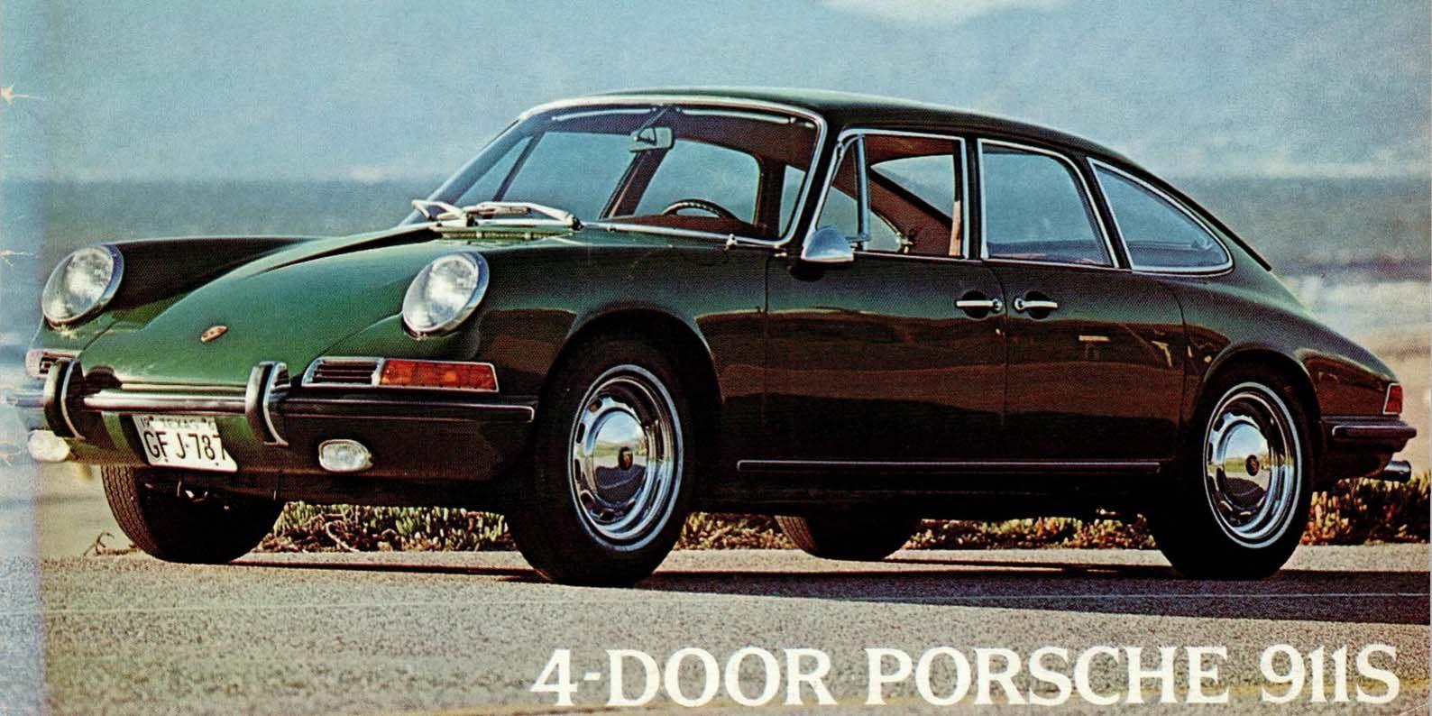 the strange and wonderful tale of the 4 door porsche 911