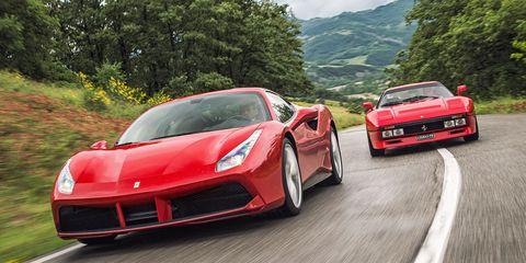 Back to Spool: 2016 Ferrari 488 GTB & 1985 Ferrari 288 GTO