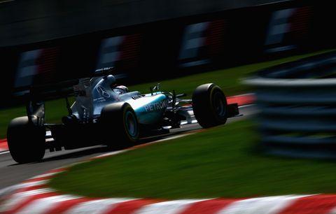 Lewis Hamilton, Hungaroring qualifying, 2015