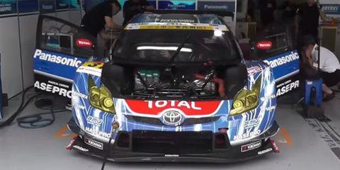 prius race car