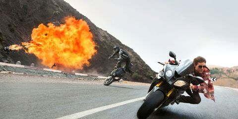 How the Ridiculous Motorcycle Stunts in 'Mission Impossible: Rogue Nation' Were Made