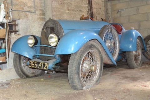 How A Tired Old Bugatti Beat Its Auction Estimate By 800k