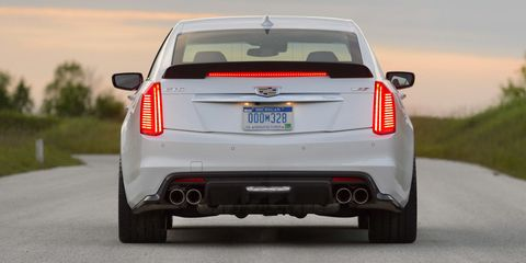 2016 Cadillac CTS-V: Instrumented Test Results