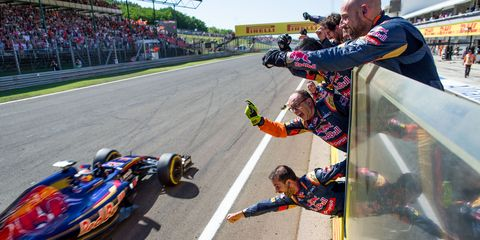 Max Verstappen Places 4th at 2015 Hungarian Grand Prix