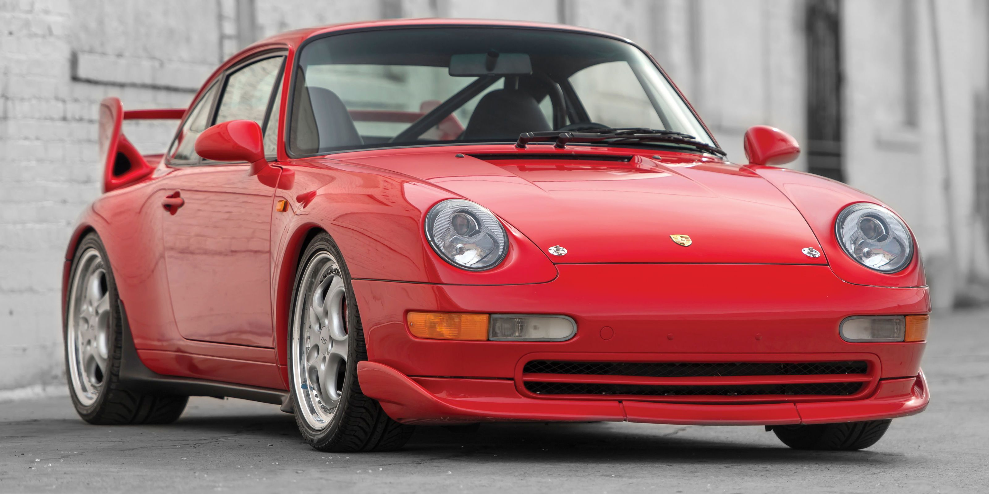 This Ultra-Rare 1996 Porsche 911 3.8 RS Could be Worth $450k