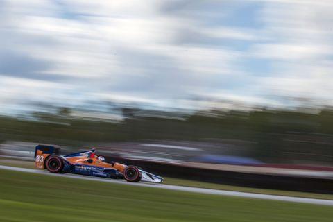 Charlie Kimball - IndyCar at Mid-Ohio 2015