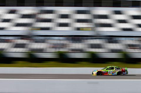 Kyle Busch Pocono 2 2015 NASCAR