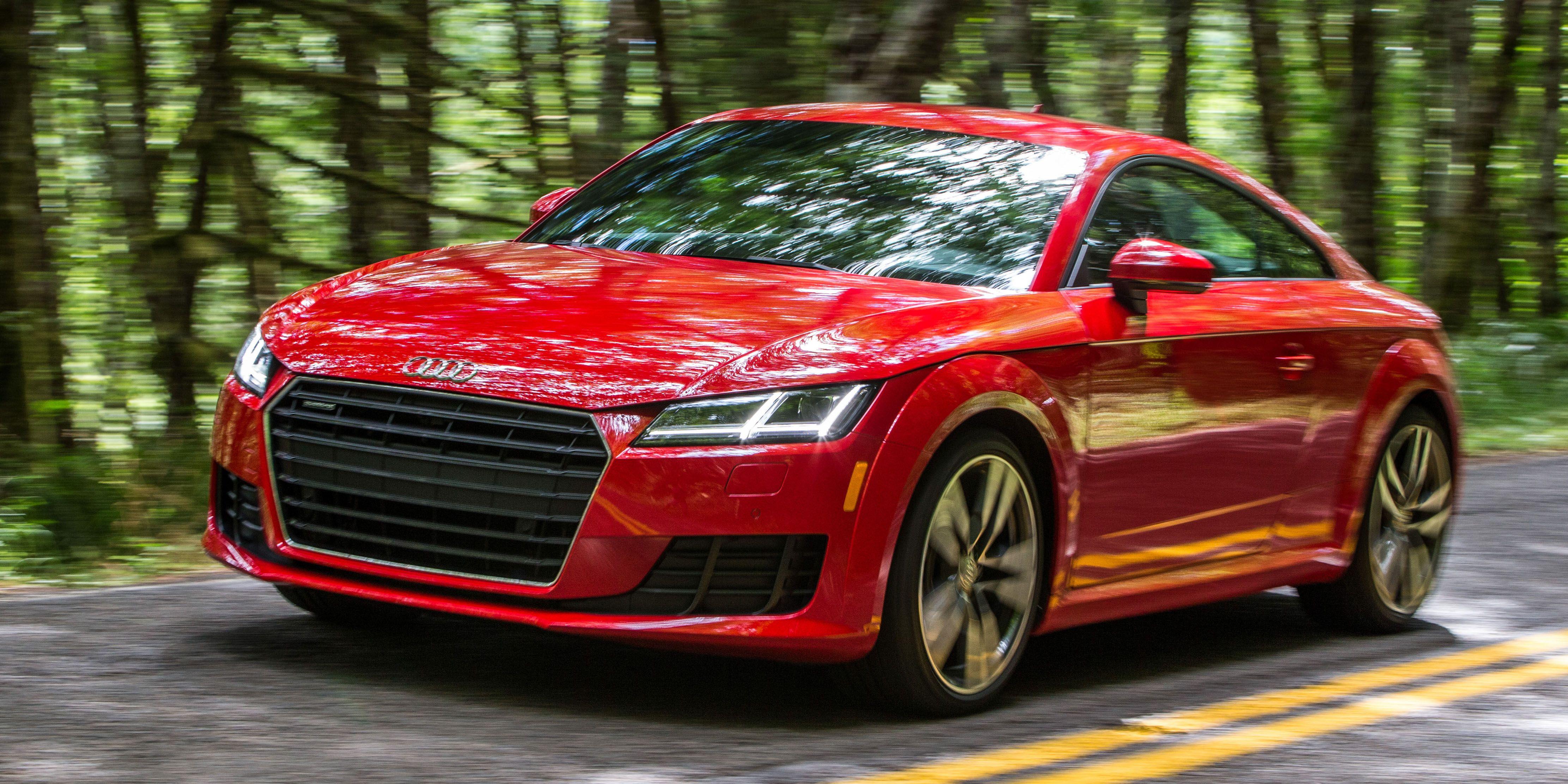 The 2016 Audi Tt Is Closer Than Ever To A True Sportscar