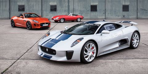 What started as a turbine hybrid ended up being a heavily boosted four cylinder hybrid. A handful were built, but Jag ultimately decided against series production when they realized the market for their million dollar car just wasn't there.