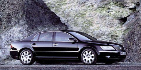 Regular Car Reviews 2004 Volkswagen Phaeton