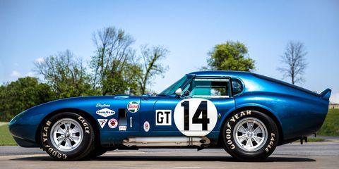 Shelby Daytona Coupe >> All Six Shelby Daytona Coupes Will Make An Appearance At