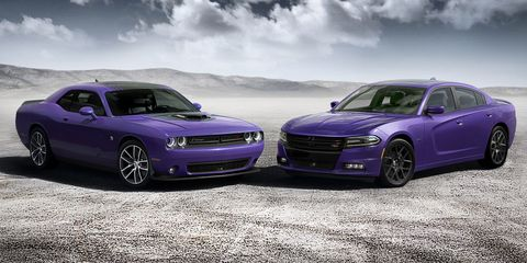 Dodge Revives Classic Plum Crazy Color for Challenger and Charger