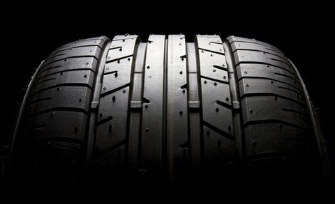<p>A wider tire will have a shorter contact patch, which is precisely what you <i>don't </i>want when the goal is maximum longitudinal grip. Jamie McNutt, the replacement-tire development manager at Bridgestone Americas, says that a longer, not wider, contact patch helps you climb faster to maximum braking grip.</p><p>The problem with this theory is that the only time you can change one and only one variable is in simulations. In the real world, varying one detail drives other changes. For example, widening a tire but maintaining the same aspect ratio leads to a taller sidewall.</p>