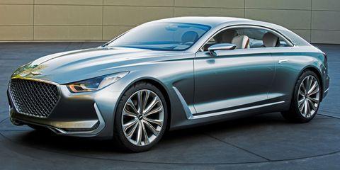 Hyundai HCD-16 Vision G Coupe Concept
