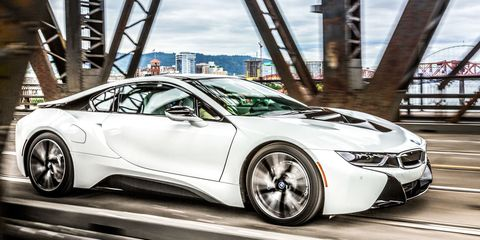 Driving The Bmw I8 Today To Find Out What The Future Holds