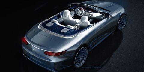 Mercedes-Benz S-Class Coupe Concept Sketch