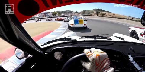 Watch an Ace Driver in a $1M Porsche Battle 700 HP Vintage Racers