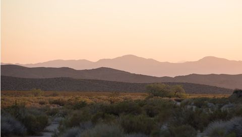 <p>Sunset over the Preserve's western edge.</p>