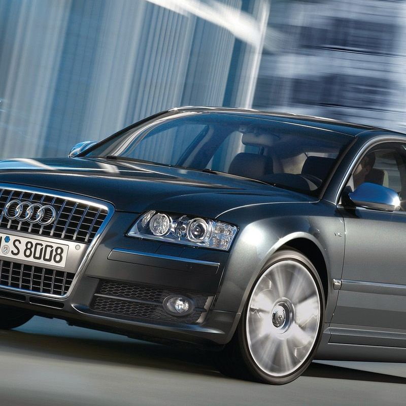 <p>As one of the ultimate sleeper cars, the S8 sported a 5.2 liter (also Gallardo-derived) V10 to haul its 4,300 lb. body from 0-60 in 4.8 seconds. The tuxedo-trim good looks and everyday usability made this car an excellent balance between work and play.</p>