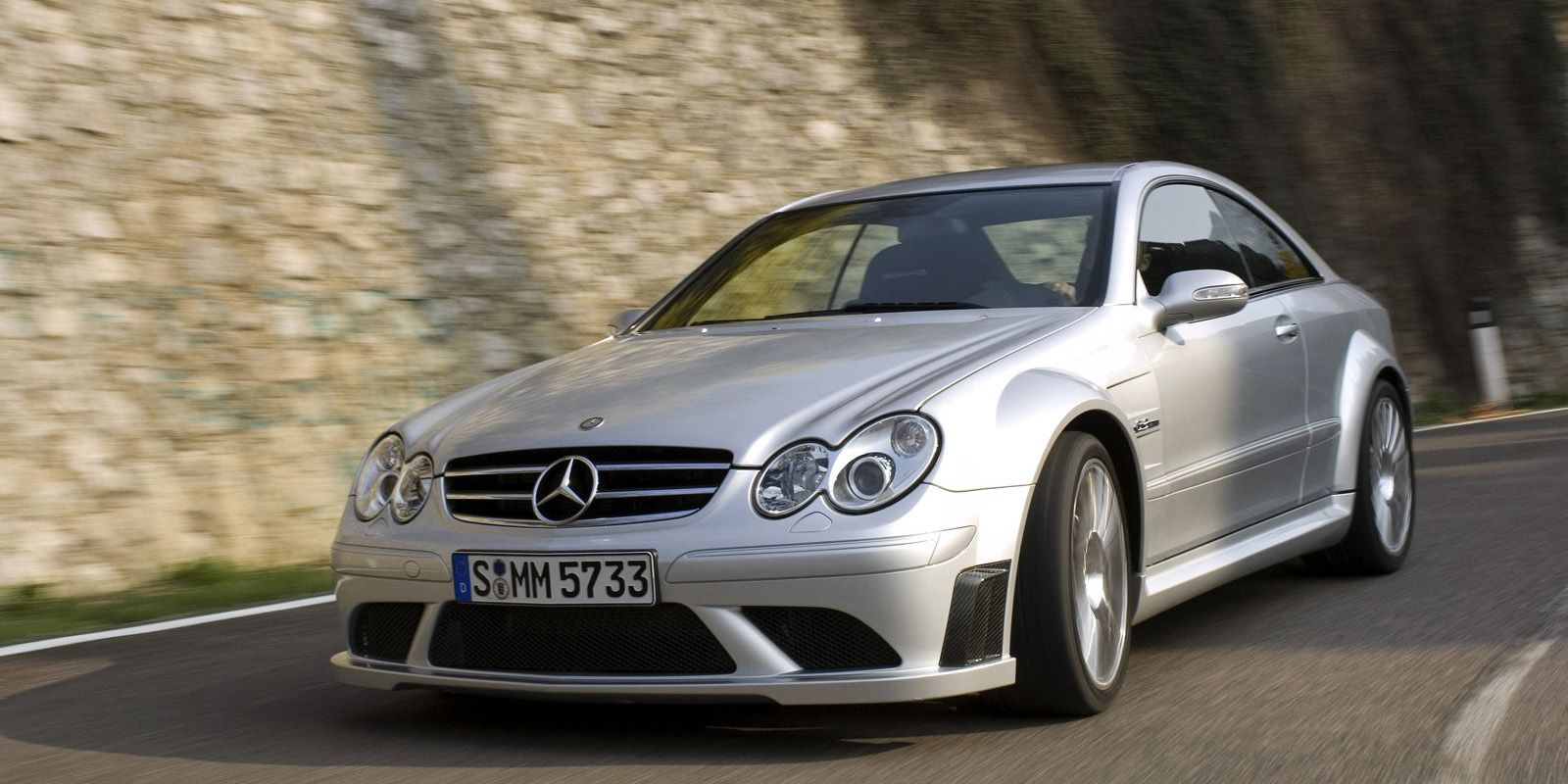 <p>Mercedes proclaimed this car a street-legal version of the official F1 safety car, with fully-functioning aggressive air scoops in the front -- all to help the naturally-aspirated monster produce 500 bhp.</p>
