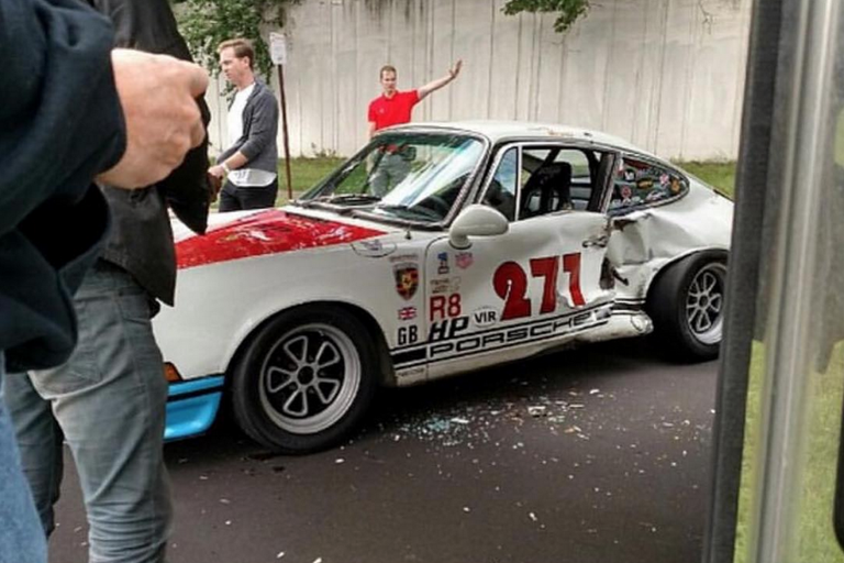 Magnus Walker Porsche 911 Crashed in Minneapolis