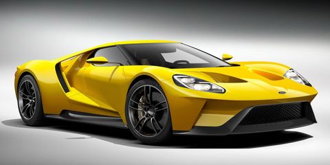 <p>This Ford GT looks amazing, there's no way to get around that. However, the twin-turbo V6 and dual-clutch transmission are like nothing that has been in a GT or GT40 before. But if they threw in the Voodoo V8 from the GT350 and linked that to a manual, then we'd really be in business.</p>