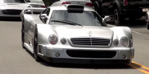 Mercedes CLK GTR SS