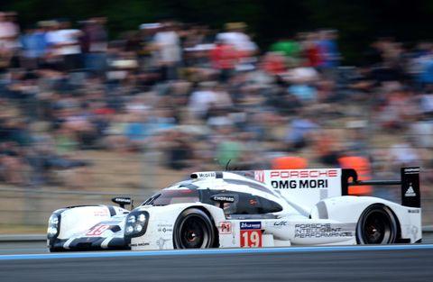 Porsche 919 #19, Le Mans 2015