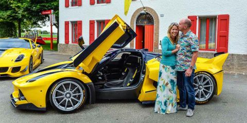 Google Executive Surprises Wife with Ferrari FXX K For Her Birthday