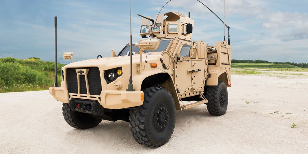 Meet the Fast, Tough War Machine That's Replacing the Humvee