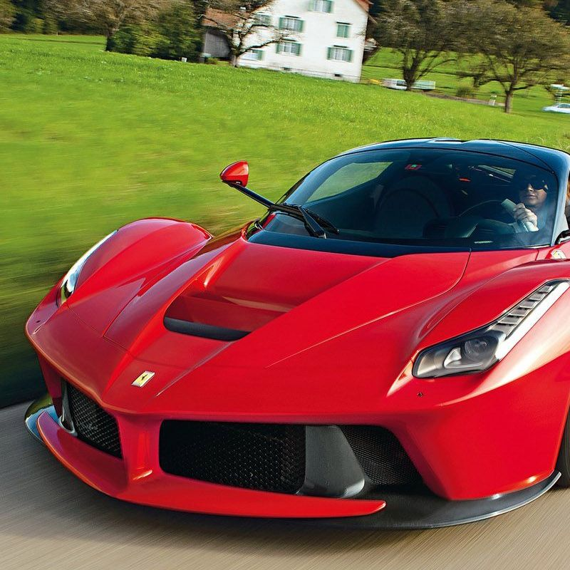 "<p>Ferrari's current halo car uses an advanced hybrid HY-KERS system, which means that the electric motor (160 bhp) generates low end power. At the higher revs, the combustion engine (789 bhp) takes over. This is so that the high-revving V12 engine would not sacrifice low-end power, as low RPM torque is provided by the electric motor. The LaFerrari has an all-electric driving mode, albeit with a <a href=""http://autoweek.com/article/car-news/laferraris-all-electric-mode-has-never-been-secret"" target=""_blank"">very short range</a>, and uses regenerative braking to charge the electric motor when not plugged in.</p>"