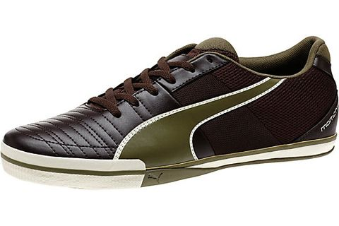 "<p><span class=""s1""><a href=""http://ca.puma.com/en_CA/pd/momentta-vulc-sala-2-mens-indoor-soccer-shoes/pna103252.html?dwvar_pna103252_color=04#q=sala&start=8"">Puma Sala Sneaker</a></span> - Thin-soled, narrow enough that bigger feet won't hit more than one pedal unless you mean to, and a versatile style make these Pumas easy to transition from daily life to the weekend drive. </p>"