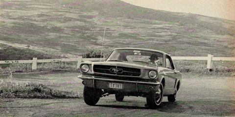 Drive Flashback: the 1965 Ford Mustang's European Vacation