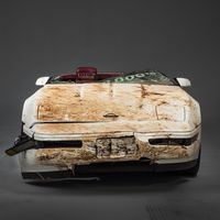"""<p>It took around 1,200 man-hours of work and the deep pockets of the General, but the millionth Corvette produced has been fully restored after being destroyed in February of last year when a <a href=""""http://www.roadandtrack.com/new-cars/news/a7043/national-corvette-museum-sinkhole/"""" target=""""_blank"""">sinkhole opened up underneath the National Corvette Museum</a>.</p>"""