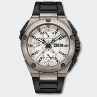 """<p>If you're a fan of F1 racing, this is a great choice. Balancing between the busy display of a complex chronograph and the sporty, go-anywhere look of a rugged digital watch, the split-seconds <a href=""""http://www.iwc.com/en/collection/ingenieur/IW3865/"""" target=""""_blank"""">Ingenieur Double Chronograph</a> is just at home at home as it is at the track. </p>"""