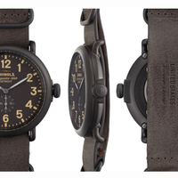 """<p>Built in Detroit, just like many of America's cars, <a href=""""http://www.shinola.com/shop/watches/therunwell47-leather-watch-s01169.html"""" target=""""_blank"""">this hand-crafted specimen</a> is affordable, classic, and always ready for another lap. </p>"""