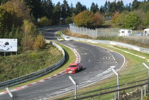 "<p><strong>Where:</strong> Germany</p><p>Arguably the most notorious racetrack in the world, this 12.93-mile loop of tarmac also happens to be a toll road that anyone with 24 euros and a need for speed can drive on non-race days. Racer Jackie Stewart once called the Nurburgring ""the green hell,"" and it features treacherous landmarks, including the Caracciola Karussell (the Carousel) and Flugplatz (also known as ""the Airport,"" for its tendency to launch vehicles airborne). But keep your inner Michael Schumacher in check: This series of 154 turns has a nasty reputation for humbling even the most seasoned drivers.</p>"
