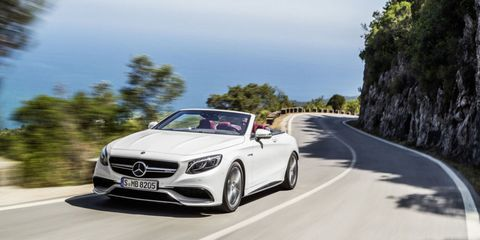 This Is the Mercedes-AMG S63 Cabriolet