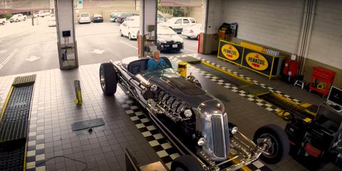 Jay Leno Tank Car