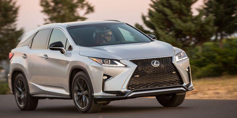 cars lexus rx design