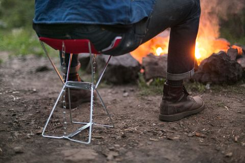 """<p>Setting up camp can be hard work—especially at elevation—so having a comfortable seat is a must. Our choice while on location was the classic, lightweight, foldable <a href=""""http://www.bestmadeco.com/collections/camp-supplies/products/the-canvas-camp-stool"""" target=""""_blank"""">Best Made Camp Stool</a>. With tents pitched at close to 13,500ft, the camp stool offered the perfect place to catch our breath and curb dizzy spells. Plus, it's extremely portable, making running from smoke while seated around the campfire quick and easy.</p><p>$36 from <a href=""""http://www.bestmadeco.com/"""" target=""""_blank"""">Best Made</a></p><p><img src=""""//secure.insightexpressai.com/adServer/adServerESI.aspx?bannerID=440995&script=false&redir=//secure.insightexpressai.com/adserver/1pixel.gif""""></p><p><img src=""""http://b.scorecardresearch.com/p?c1=3&c2=6035258&c3=159753&c4=1978&c5=9051978&c6=&c10=1&c11=hearst&c13=1x1&c16=gen&cj=1&ax_fwd=1&rn=[TIMESTAMP]&""""></p>"""