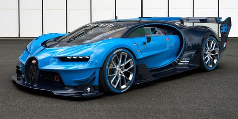 Bugatti Chiron: 1500 Horsepower and a Limited Top Speed of 261 MPH