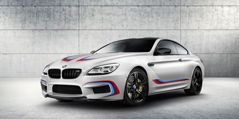 BMW's 600 HP M6 Coupe Competition Edition Is a Bit of a Gimmick