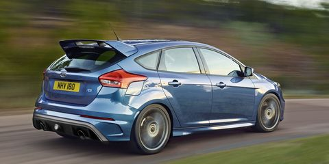 2016 Ford Focus RS Hits 60 in Just 4.7 Seconds, Starts At $36,605