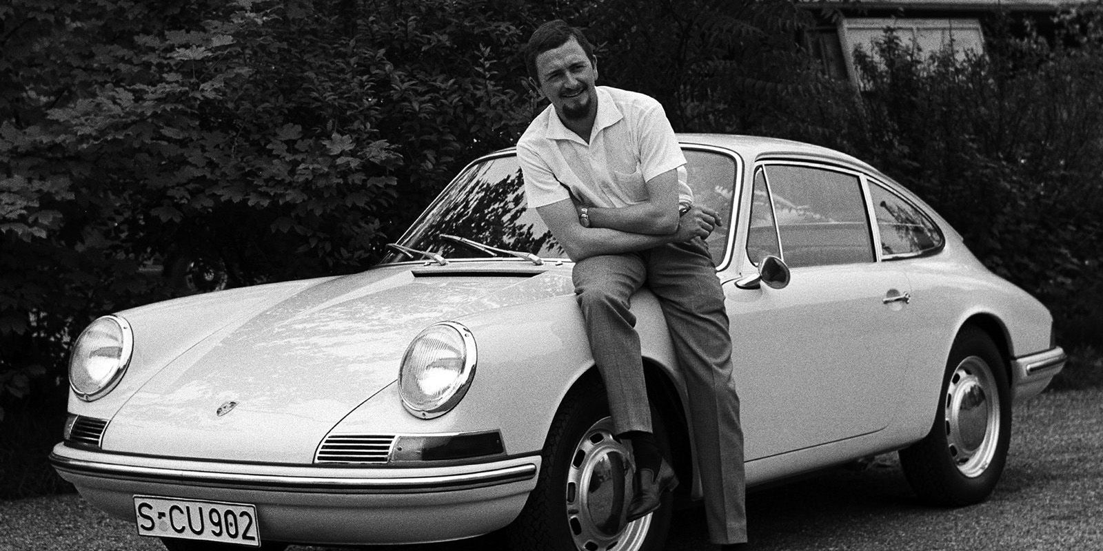 <p>The original 911 was based off the Porsche 356. Peugeot claimed the rights over the 901 moniker, so Porsche was forced to select another name for its 356 successor. The new car maintained the 356's fastback design, and utilized an air-cooled flat-six that produced 128 bhp.</p>