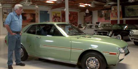 Jay Leno 1971 Toyota Celica