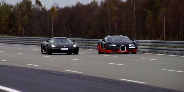 Watch a Bugatti Veyron do Battle with a Koenigsegg Agera R