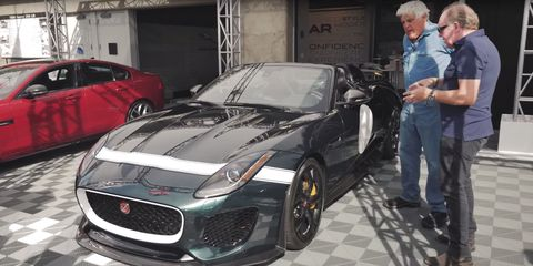 Ian Callum Tells Jay Leno How the Jaguar F-Type Project 7 Came To Be