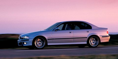 Many Consider The E39 M5 To Have Cleanest 5 Series Body Style Ever